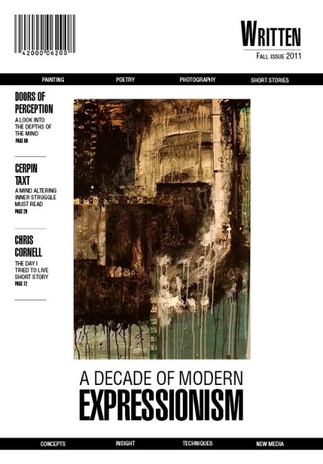 Written Magazine cover